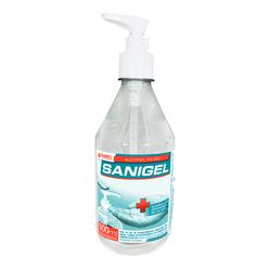 Alcohol en gel Sanigel con dosificador
