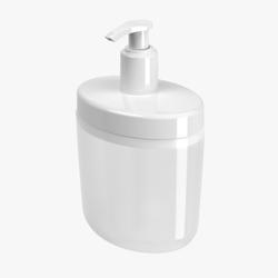 Dispenser de mesada para jabón líquido y Alcohol en gel COZA