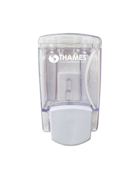 Dispenser de jabón líquido Clear 400ml – Acrílico y ABS