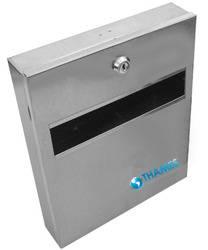 Dispenser para papel cubre inodoros – acero