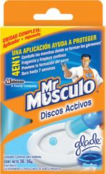 Desodorante Mr Músculo discos activos