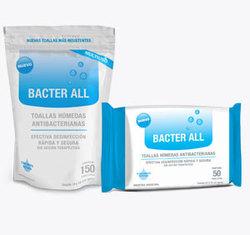 Toallitas húmedas antibacteriales Bacter All
