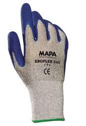 Guantes de látex MAPA Kroflex 840