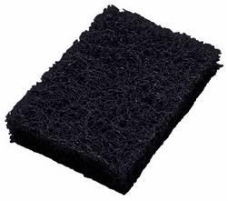 Fibra negra gruesa parrillera