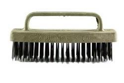 Cepillo planchita base PVC – cerdas acero