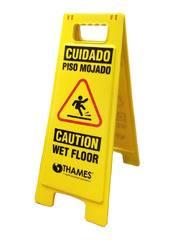 Cartel de Seguridad Amarillo