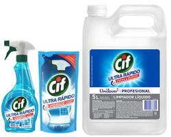 Limpiador Cif vidrios y multiuso