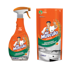Limpiador Mr Músculo antigrasa