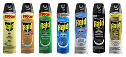 Insecticidas Raid