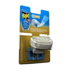 Insecticida Raid aparato para tabletas