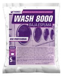 Detergente en polvo Wash 8000